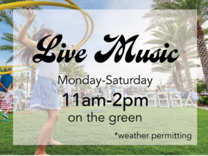 Lunch & Live Music